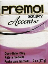 Sculpey PREMO ACCENTS - Polymer Clay - 57g - FROST WHITE GLITTER