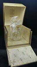 Antique Lalique France Nina Ricci L'Air Du Temps Perfume Bottle Box Double Dove