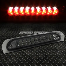 [2-ROW LED]FOR 02-09 RAM TRUCK THIRD 3RD TAIL BRAKE LIGHT STOP CARGO LAMP SMOKED