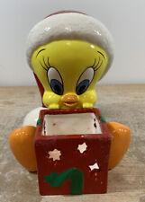 Warner Bros Tweety Votive Candle Holder Christmas