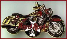 Hard Rock Cafe MALTA 2000 HARLEY MOTORCYCLE with Maltese Cross PIN - HRC #5265