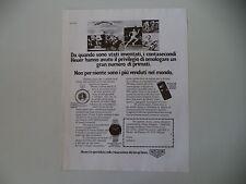 advertising Pubblicità 1977 HEUER CRONOGRAFO CARRERA/MICROSPLIT 320