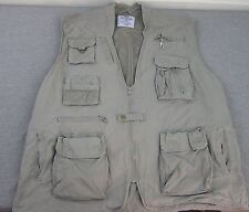Men's Rothco Outback Travel Photo Photography Pocket Vest XL Canvas