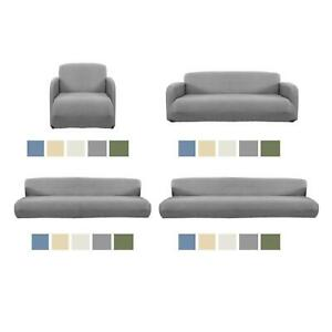 Premium Stretch Sofa Slipcover Plain for Furniture Protector Lounge Cover