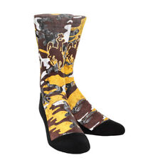 Rock 'Em Elite, Wyoming Armored Camo, Licensed Crew Socks
