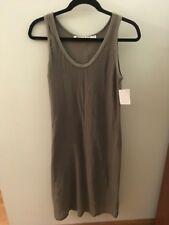 Michael Stars Gray Mesh Overlay Dress, Size Small