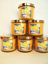 Bath Body Works Slatkin HONEYSUCKLE Candles, single wick, 4 oz., NEW x 6