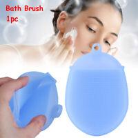 Glove  Anti Cellulite  Silicone  Bath Brush Cleaning Mat Body Scrubber  Massage