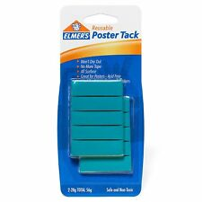 New listing New Elmer's Poster Tack Removable and reusable Replace of tape or Thumb tacks