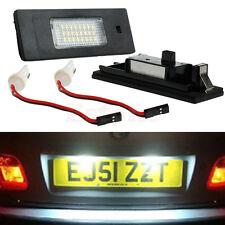 White FREE ERROR LICENSE PLATE LED LIGHT FOR BMW Z4 E63 E64 E81 E85 E87 650i M6