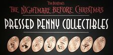 Nightmare Before Christmas Complete Set Of Eight Pressed Pennies - Oogie Boogie