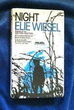 NIGHT By Elie Wiesel PREBOUND edition