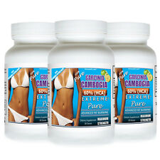 3 GARCINIA CAMBOGIA EXTRACT EXTREME PURE 60% HCA DIET WEIGHT LOSS MAX POWDER