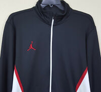 NIKE AIR JORDAN JUMPMAN BASKETBALL JACKET BRED BLACK RED 688536-010 (SIZE 2XL)
