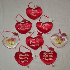 Lot 8 Valentines Day Door Hanger Plush Heart Pillow Naughty Bedroom Stuffed Gift