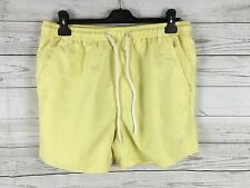 Mens French Connection Swim Shorts - XL - Yellow - Great Condition