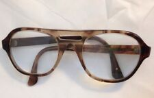 dffbe66033b Vintage Titmus Safety Eyeglass Frame Z87 53-18-140 Brown 5-3
