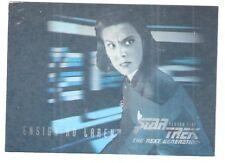 Star Trek TNG Season 5 Hologram Card Ensign Ro Laren #H10