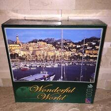 WONDERFUL WORLD 1000 PC JIGSAW PUZZLE COTE D AZUR FRANCE