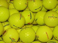 50 YELLOW MIXED PINNACLE GOLF BALLS PEARL/PEARL 1 GRADE