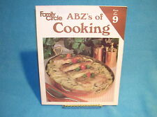 Family Circle ABZ's of Cooking Plum to Rye Volume 9