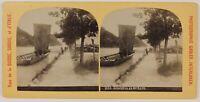 Interlaken Suisse Foto Gabler Stereo PL47l5n15 Vintage Albumina c1890
