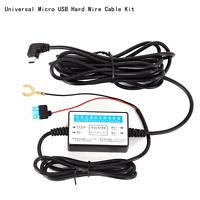 Universal HardWire Fuse Box for Car DVR Dashcam Hard Wire Kit Mini USB Plug 5V3A