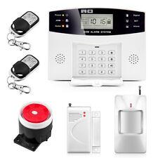Wireless LCD  Home Security Burglar Home/Office Alarm System GSM SIM Auto Dialer