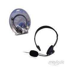 Gaming Kopfhörer Headset für PS4 mit Mikrofon schnurgebunden SCHWARZ NEU&OVP