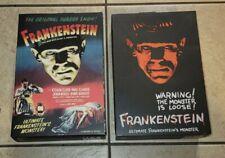 NECA Ultimate FRANKENSTEIN'S Monster Boris Karloff Both Color & B&W Versions New