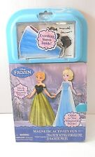 Disney Frozen Anna & Elsa Magnetic Activity Fun Dress Up Fashion Set Toy New
