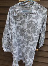 Woman's Black & White Shirt by Sag Harbor; Size:  1X