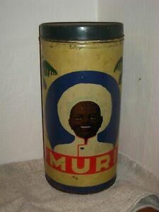 MURI -  große Blechdose - art deco