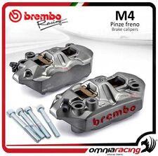 Pareja pinzas freno Brembo M4 + espaciadores HONDA CB 1000 R 2010 NO ABS dsk320