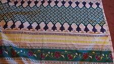 """DUVET Comforter Quilt Cover 88"""" W X 90"""" L Unique Design Geometric Floral Colors"""