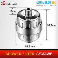 Shower Filter Australia   - Genuine  Aqua Blue Product