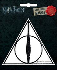 Harry Potter Deathly Hallows Die Cut Fridge / Car Magnet