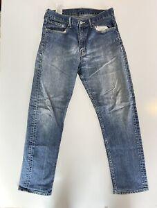 Levis Vintage Jeans 505 Womens - Waist 34 Length 32 - Orange Tab