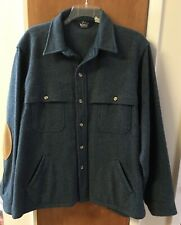 Woolrich Wool Hunting Jacket Vintage Made In USA Men's XL Elbow Patches