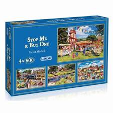 GIBSONS PUZZLE STOP ME & BUY ONE TREVOR MITCHELL 4X500 PCS G5012 NOSTALGIA
