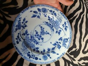plat assiette chinoise ancienne antique chinese plate  vase compagnie des indes