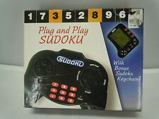 SUDOKU ELECTRONIC GAME 2006 FAMILY FUN RETRO VINTAGE COMPLETE Plug and Play