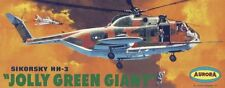 "Aurora Sikorsky HH-3 ""Jolly Green Giant"" US Army Helicopter Sticker or Magnet"