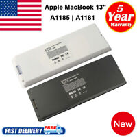 "Battery for Apple MacBook 13"" 13.3 Inch A1181 A1185 MA561 MA566 White / Black"