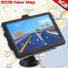 "8Gb 5"" Truck Car Gps Navigation Navigator Free Us Canada Mexico World Map Bb"