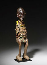 RARE 19TH C. AFRICAN SUKU FETISH FIGURE - NO RESERVE! Ex Bonhams