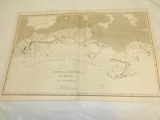 1819 Antique Map // LIBYAE, VEL AFRICAE (LIBYA IN AFRICA)