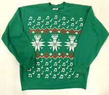 Descendents Ugly Christmas Sweater Sweatshirt Men Medium Worn MILO