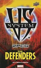 Upper Deck VS System 2PCG Marvel The Defenders Expansion - New Sealed