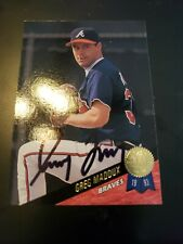 Greg Maddux signed autographed Chicago Cubs Card